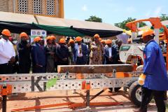Sawmill launching event in Songea 15.3.2021. (c) Kijani Consult Tanzania, Promo Online TV